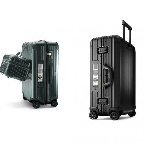 Betekent de Rimowa Electronic Tag het einde van het standaard bagage-label? Hiermee kun je thuis je koffer al inchecken met behulp van je smartphone. De data van de betreffende airline wordt gemakkelijk overgeheveld naar de koffer. Op het vliegveld hoef je vervolgens alleen je koffer naar de geautomatiseerde check-in stations te brengen. Lufthansa is al de eerste officiële partner van deze innoverende techniek van koffermerk Rimowa.Bron: LXRY