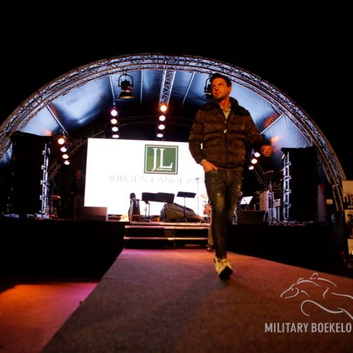 Jurgen Langezaal bij Military Classic Night Fair